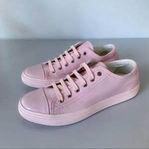 ⭕️ YSL SAINT LAURENT Pink Leather Sneakers 8.5